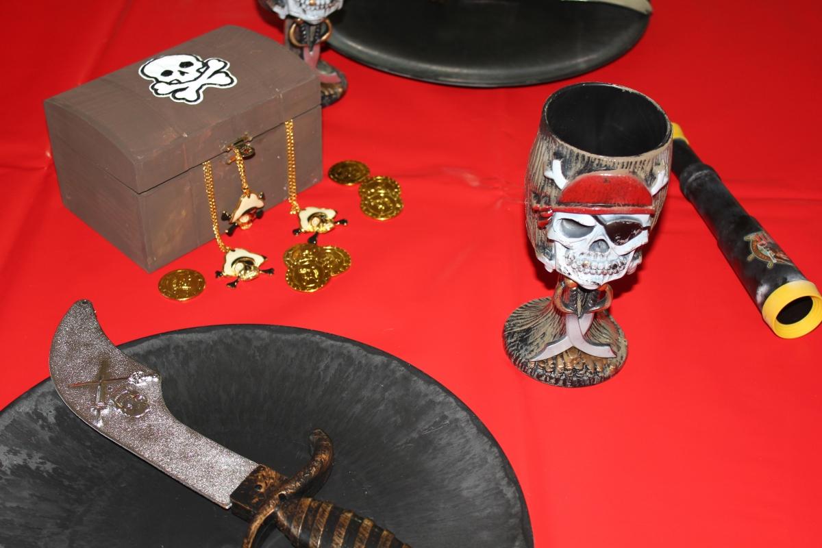piratenparty als kindergeburtstag feiern mit passenden
